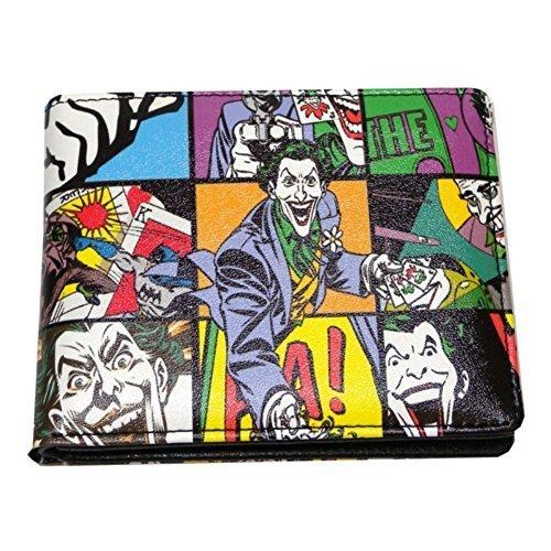 Batman - Portafoglio, motivo: Joker stile Pop Art, confezione regalo in latta