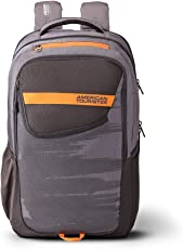 American Tourister X-Sport 28 Ltrs Grey Laptop Backpack (Fi9 (0) 08 001)