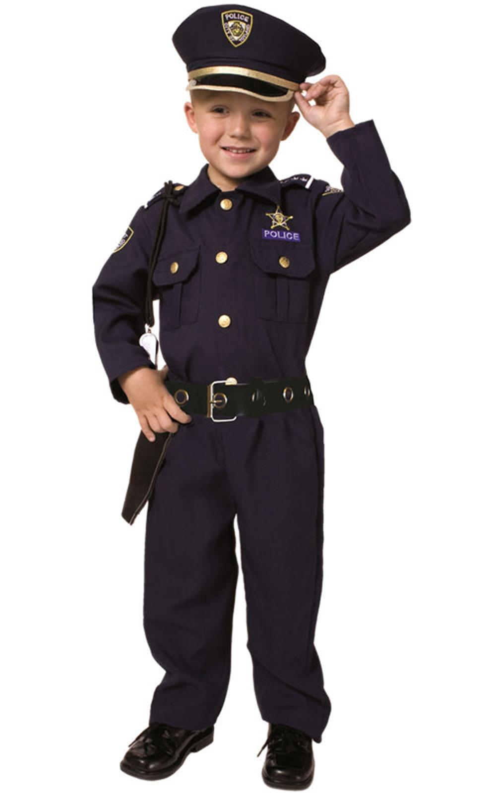 Dress Up America Deluxe costume da Poliziotto 4 spesavip