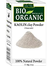 Indus Valley Natural Kaolin/Clay Powder For Acne, Blackheads And For Glowing Skin 100Gm