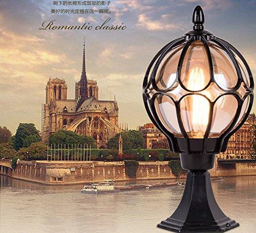 Wasserdichte LED Pfostenlichter im Freien für Tor, Garten, Quadrat, Wand, B