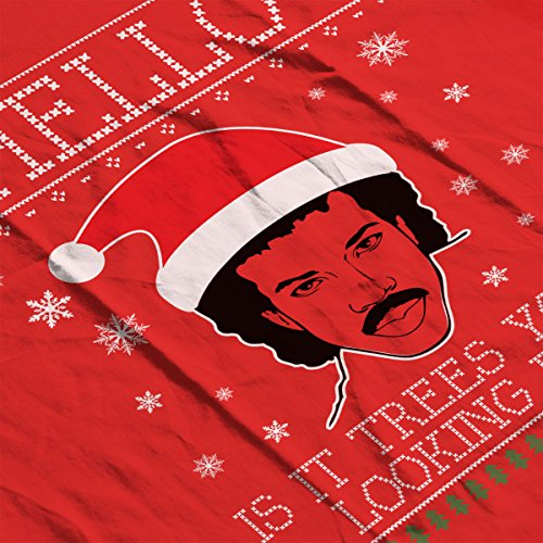 Hello Lionel Richie Christmas Knit Men's Vest Red