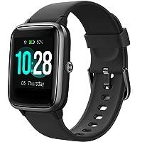 Smartwatch, Fitness Armband Tracker Touch Screen IP68 Wasserdicht Schrittzähler Uhr Damen Herren Kinder…