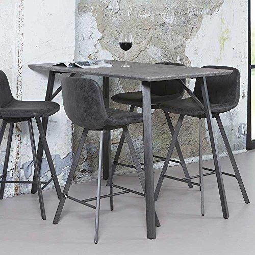 Pharao24 Küchen Tisch mit Massivholzplatte