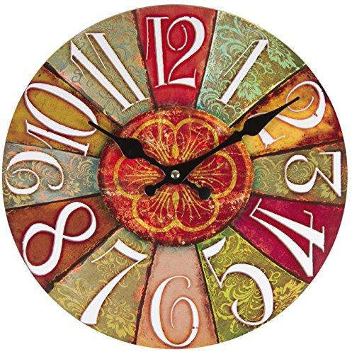 Reloj de pared perla pd design, de cocina, diseño vintage, retro, Diámetro...