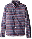 GANT Men's O1. Comfort Oxf Plaid Fitted ...