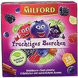 Milford Fruchtiges Beerchen, Waldbeere-Zimt-Limette Tee, 28 Beutel, 63 g