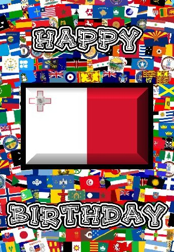 14cm-x-10cm-art-card-greetings-birthday-card-flag-design-malta