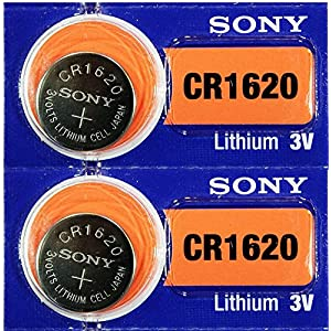 2PC Sony CR1620Lithium 3V Armbanduhr Electronic Batterien–Made in Japan