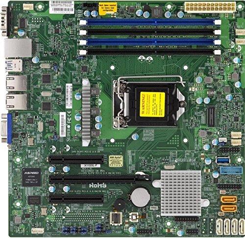 Supermicro x11ssl Intel C232F. Socket H4(LGA 1151) Micro ATX Server/Workstation Mainboard