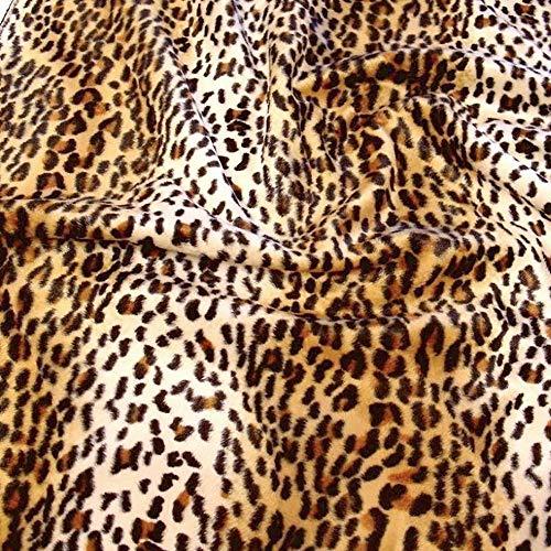 fell als Meterware - tolle Tierfell-Imitat Stoffe (Gepard) ()