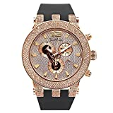 Joe Rodeo Diamant Herren Uhr - BROADWAY rose gold 5 ctw