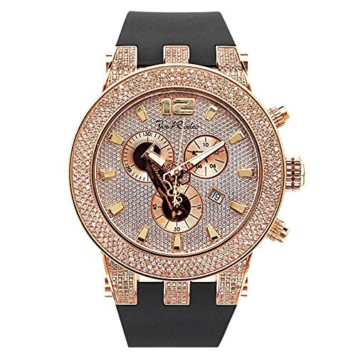 Joe Rodeo Diamond orologio da uomo - Broadway rose oro 5 Ctw