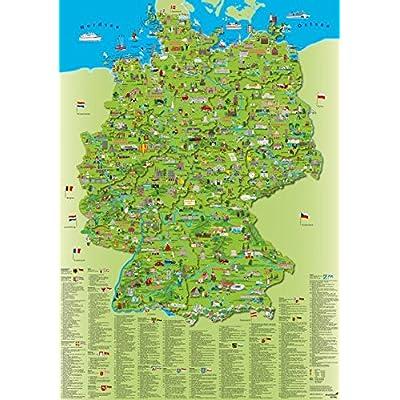deutschlandkarte auto Illustrierte Deutschlandkarte: Erlebniskarte PDF Download Free