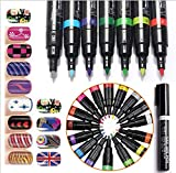 Biutee Model 16 Farben Nail Art Stift Malerei Design 3D Nail Art Dekoration Malerei Werkzeug Nagellackstift Pen