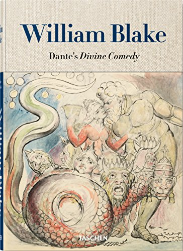 William Blake. Dante's `Divine Comedy'. The Complete Drawings (Cl)