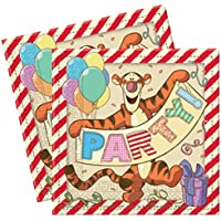Winnie The Pooh 2 Ply Luncheon Napkins – 13 Inches / 33cm – Pack of 20