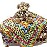 Easy Peasy Baby Blanket Crochet Kit - all-inclusive gift, ideal for beginner crocheters