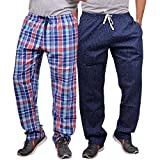 #7: Luke and Lilly Mens Pyjama,Sleepwear,Track Pant,Bottoms - Pack of 2