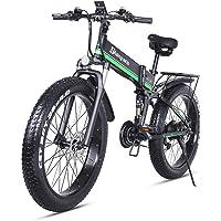 Shengmilo Mountainbike 26 Zoll 1000 Watt 48 V 13ah Klapp Elektrisches Schneemobil Shimano 21 Geschwindigkeit Elektrische…