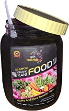 Kriti Kalash All Purpose Organic Plant Food Organic Manure for All Flowers, Vegetables, Trees, Shrubs and Houseplants Easy to Store and Reuse for Decades 850gm Jar Packing with Spoon