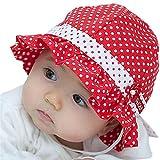 Mütze Baby Frühling Sommer Hut Solar Kleine Mädchen Jungen Gr. Einheitsgröße, rot
