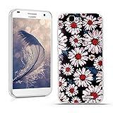 Huawei Ascend G7 (L01 L03 C199) Hülle, Fubaoda 3D Erleichterung Ästhetisch Muster TPU Case Schutzhülle Silikon Case für Huawei Ascend G7 (L01 L03 C199)