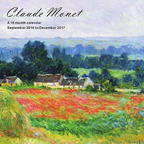 Claude Monet Calendario 2017