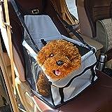 SymbolLife Auto wasserdicht Rücksitz Schutz Abdeckung Boostersitz Autositz für Haustiere Katzen Hunde 15,7