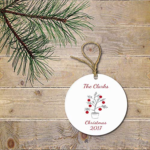 Tiukiu Personalized Christmas Ornament Christmas Ornament Christmas Tree Ornament Christmas Lights Funny Christmas Ornament -