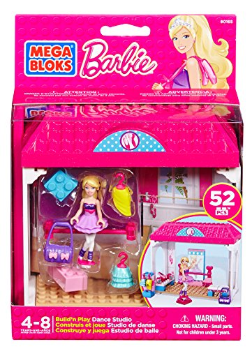Mega Bloks - 80165 - Jeu De Construction - Barbie - Studio De Danse