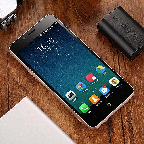Leagoo Elite 5 Lite  KIICAA POWER  - 5 0  3G Smartphone  Android 7 0 Quad Core 2GB 16GB  C  maras Traseras Duales 5MP 8MP  4000mAh  SIM Dual  Huella D