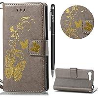 Preisvergleich für WIWJ Schutzhülle für Sony Xperia X Compact Handyhülle Leather Case für Sony Xperia X Compact Hülle Lederhülle...