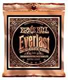 Ernie Ball Everlast Extra Light Coated Phosphorbronze Akustikgitarren Saiten - 10-50 Gauge