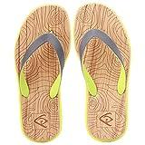 MQIAOHAM Nueva Llegada Verano Hombres Chanclas Sandalias de Playa de Alta Calidad Antideslizante Zapatillas Masculinas Zapatos Hombre Casual Zapatos Whorl EU41