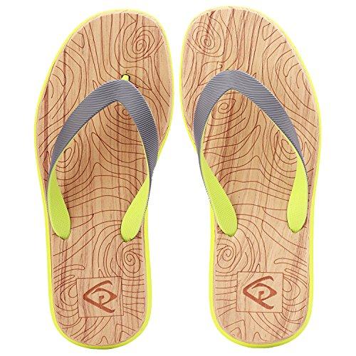 MQIAOHAM Neue Ankunft Sommer Männer Flip-Flops Hohe Qualität Strand Sandalen Rutschfeste Männliche Hausschuhe Zapatos Hombre Casual Schuhe Whorl EU42
