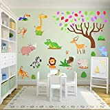 Jungle and Safari Wall Stickers for a New - Best Reviews Guide