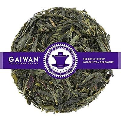 """N° 1106: Thé vert """"Japan Cherry (cerise japonaise)"""" - feuilles de thé - GAIWAN® GERMANY - thé vert de Chine, cerises"""