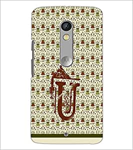 PrintDhaba GRANDbet U D-1299 Back Case Cover for MOTOROLA MOTO X PLAY (Multi-Coloured)