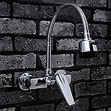YMSLT Waschtischarmaturen Basin Wasserhahn, europäischen Stil Retro-Wasserhahn, Bad-Waschtische Einloch-Armaturen, Küchenarmaturen, Badezimmer Wasserhahn, Haushalt Wasserhähne Sinken tippen