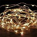Engive 10m 100 Led 220v Starry Weihnachtsbeleuchtung Sternenklaren Beleuchtung Lichter Warmwei Hauses Dekoration Lampe Lights Mit Standard-adapter Warmwei von ENGIVE