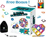 Best LEGO Gift For 4 Year Olds - Magnetic Building Blocks 112 pcs   Best Educational Review