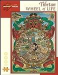 Tibetan Wheel of Life: 1,000 Piece Pu...