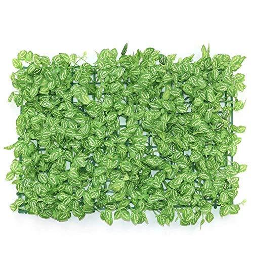 Best Künstliche Heckenmatte für Garten, Terrasse, Sichtschutz, Hecke, Kunststoff, Farbe: C, Größe: 40 x 60 cm, F 40 x 60 cm