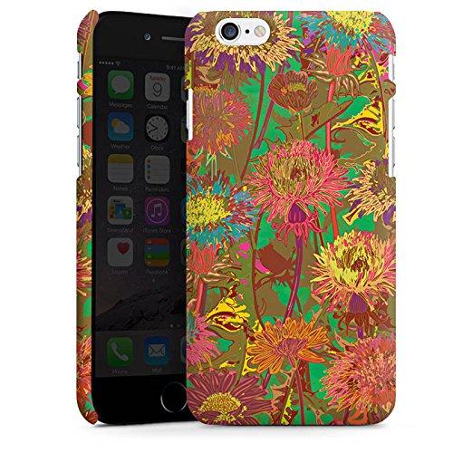 Apple iPhone 5s Housse Outdoor Étui militaire Coque Prairie de fleurs Fleurs Fleurs Cas Premium mat