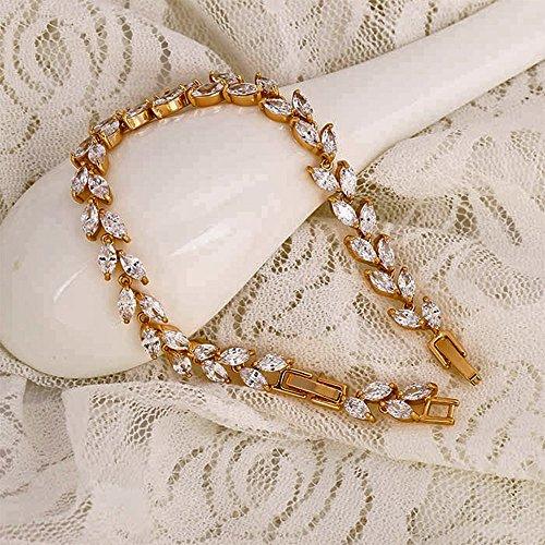 Neu: Modeschmuck Xuping Armband 17 - 19 cm