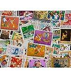 Goldhahn 50 Märchen und Kinder Briefmarken für Sammler