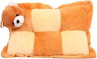 Mable Premium Quality New Born Baby Multi Colour Pillow Teddy Brown 38 cm Stuffed Toy Plush Toy Cushion Teddy Bear Baby Soft Toy Pillow