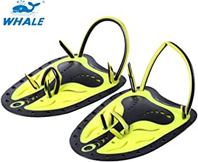Zorbes Whale Paired Unisex Swimming Adjustable Paddles Fins Webbed Training Pool Diving Hand Gloves