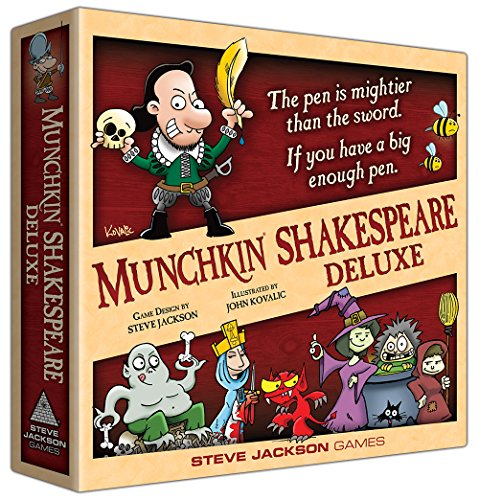 Steve Jackson Games sjg01564No Munchkin Shakespeare Deluxe (en inglés), Parte